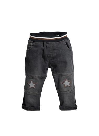 Zeyland Bel Lastikli Yıldızlı Kot Pantolon (12ay-4yaş) Bel Lastikli Yıldızlı Kot Pantolon (12ay-4yaş) Gri